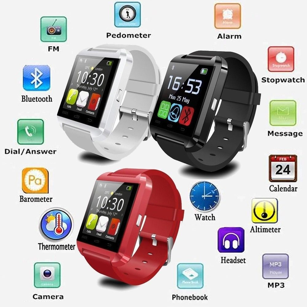 BAASISGEK.COM!! A8 BLUETOOTH SMARTWATCH WIT!