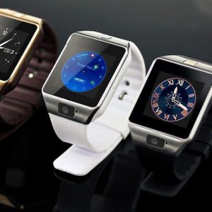 SMARTWATCH DZ09 2 IN1 BLUETOOTH EN SIMCARD GOUD NEW!