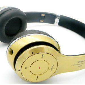 Beat by Baasisgek.com Op Oor Bluetooth Headphones Goud NEW!!