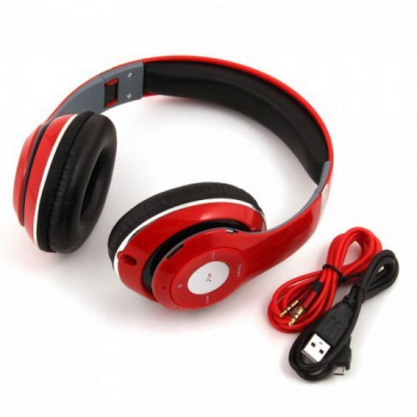 Beat By BAASISGEK.COM Over Ear Bluetooth Headphone FM ROOD!