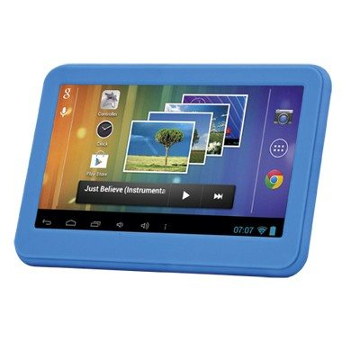 SHOWMODELLENVERKOOP!! Android 7 Inch Tablet Tabby Blauw Met Camera+ Gratis Table Stand!
