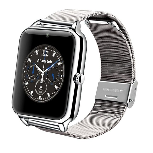 NEW ARRIVAL!! Z6 Smartwatch Smartwatch Simcard Bluetooth Silver!