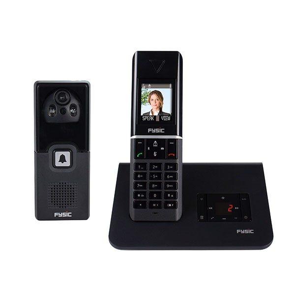 Draadloze Deurbel Met Camera.Draadloos Dect Telefoon Met Draadloze Wifi Deurbel Camera Nieuw